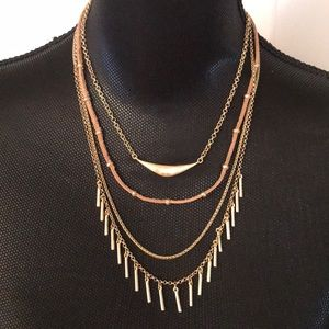 ⭐️ Lucky Brand Gold Layered Necklace ⭐️